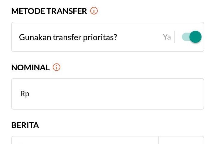 priority transfer